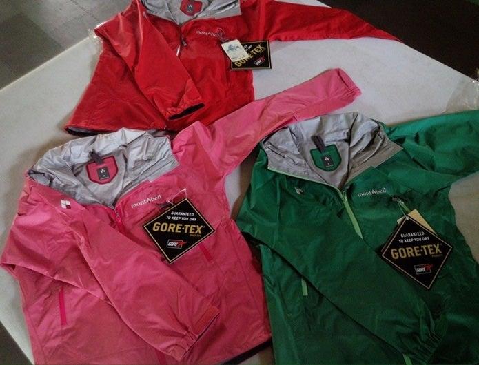 富士登山装備のジャケット