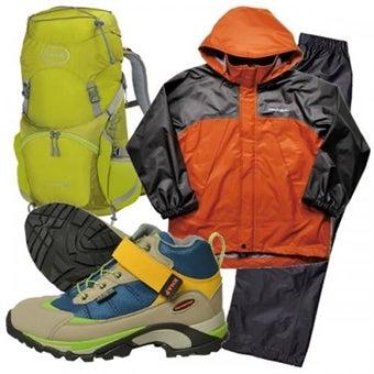 【ジュニアセット】初めての登山装備ジュニア3点セット