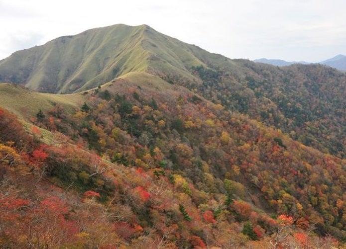 紅葉登山ができる剣山