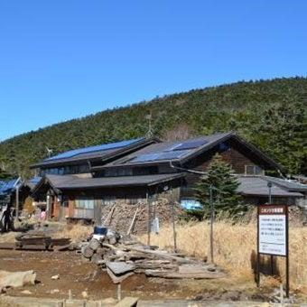 八ヶ岳登山付近の黒百合ヒュッテ