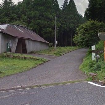 ヤビツ峠付近 県道70号線 Google マップ