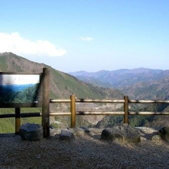 大滝の路からの眺望