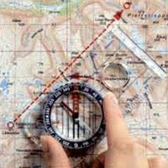 地図とシルバコンパスの使い方