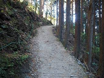 小仏峠までの道のり