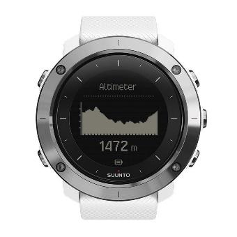 登山時計のスントの画面