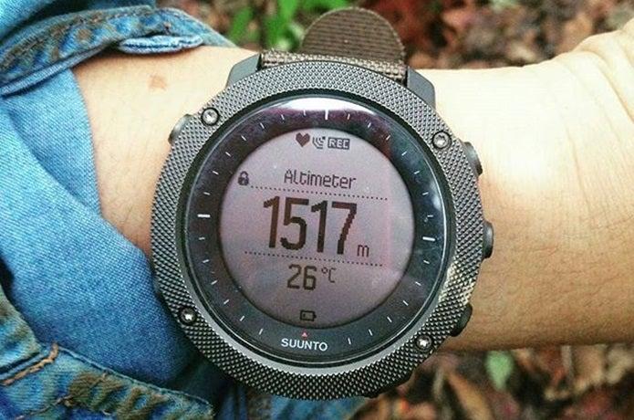 スントの登山時計
