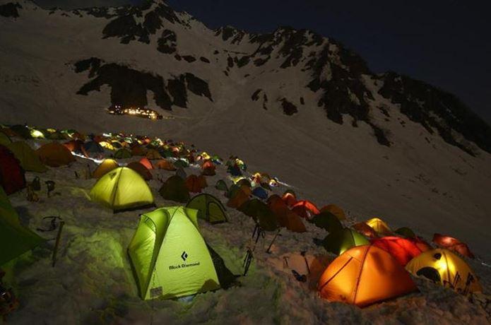 一人用テント2