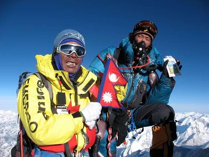 エベレスト 山頂
