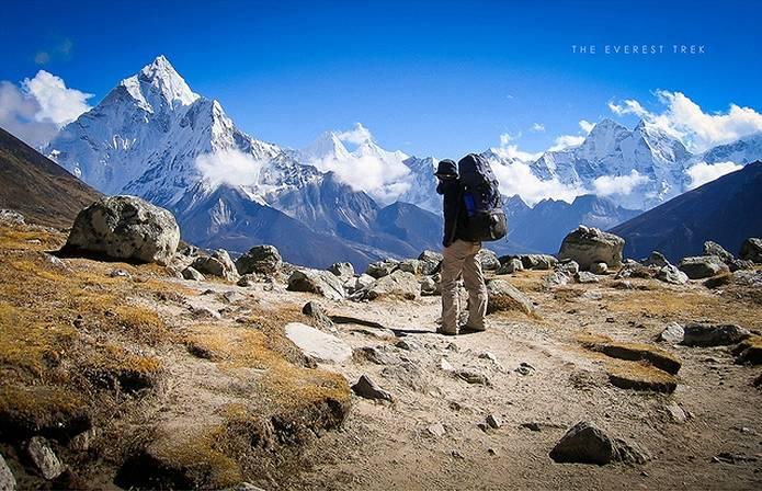 エベレスト 登山が厳しいならエベレスト街道のトレッキングも