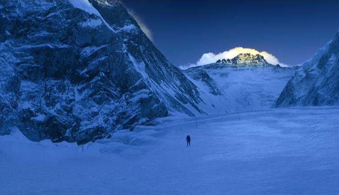 エヴェレスト 神々の山嶺撮影場所のエベレスト