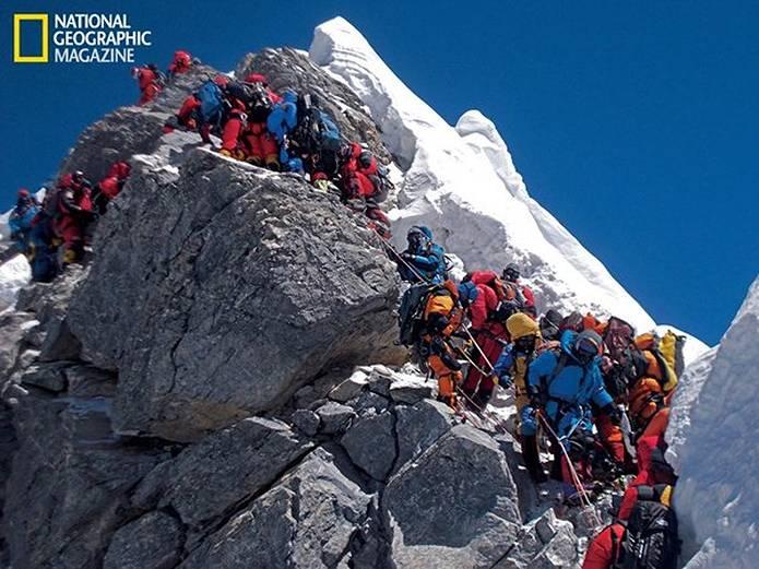 エベレスト 登山の渋滞