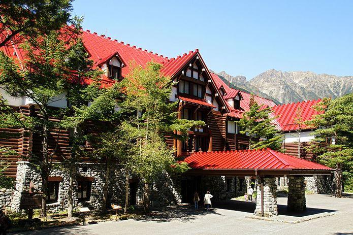 山の日に、上高地帝国ホテルへ泊まる