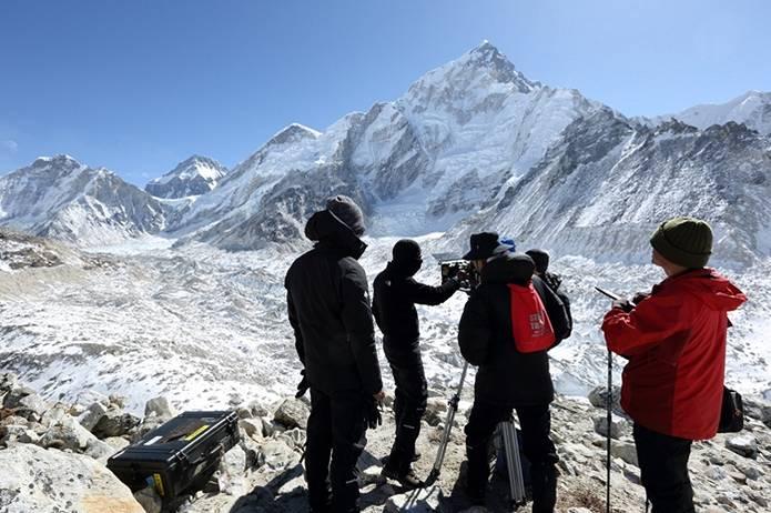 映画「エヴェレスト 神々の山嶺」の撮影はエベレストの麓で敢行