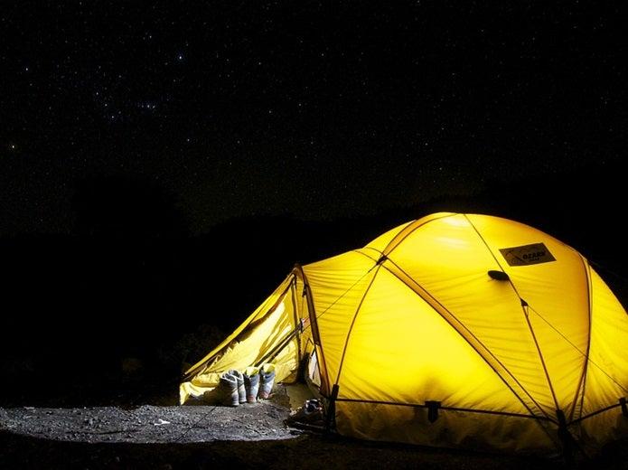 一人用テント