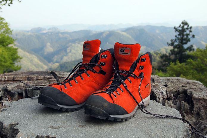 登山靴メーカー「キャラバン」の靴