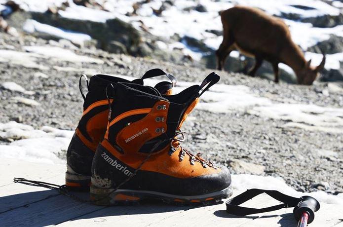 登山靴メーカー「ザンバラン」の靴