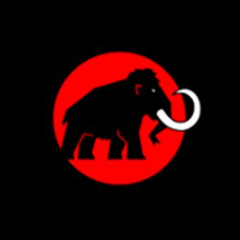 ハイキングシューズのメーカー「マムート」ロゴ
