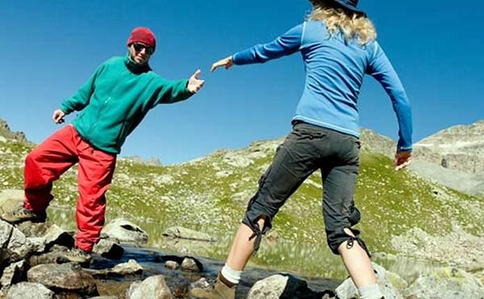 登山トレーニングはトラブル回避にも
