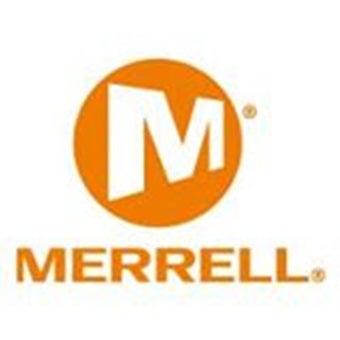 ハイキングシューズのメーカー「メレル」ロゴ