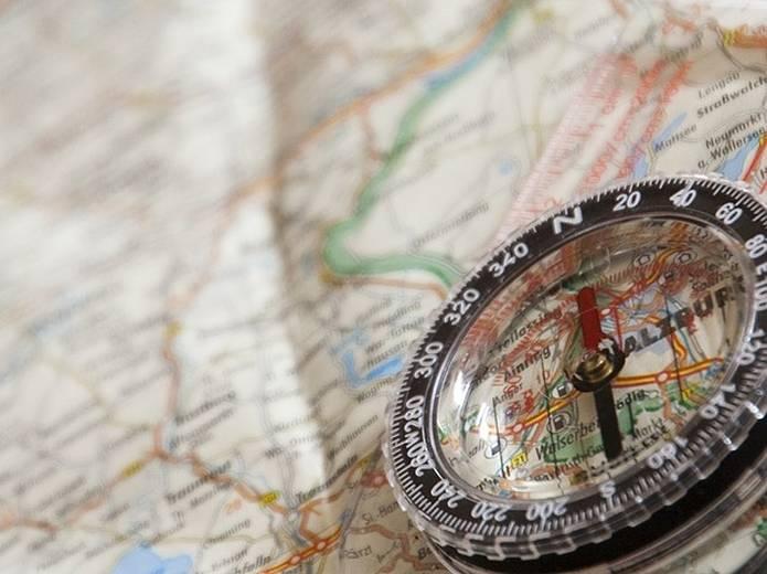 地図とコンパスの使い方