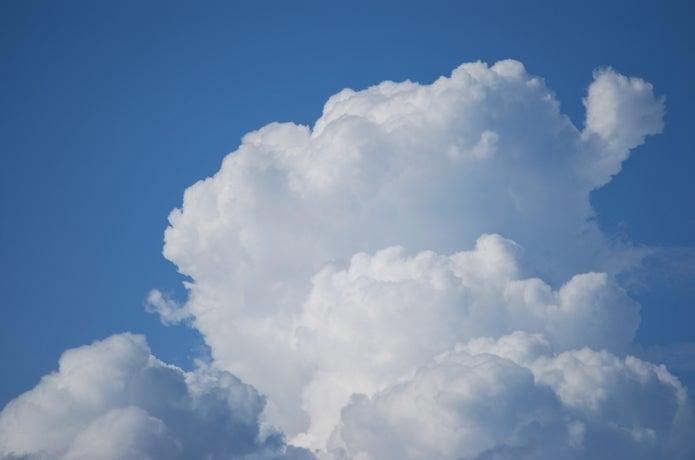 積乱雲の観天望気