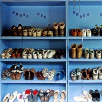 登山靴のお手入れ:風通しの良い場所に保管