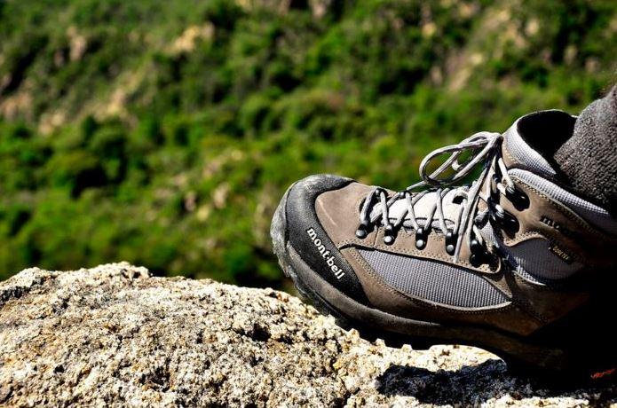 登山靴メーカー「モンベル」の靴