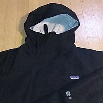 パタゴニアのゴアテックス素材であるH2NOジャケット