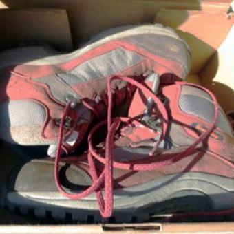 登山靴のお手入れのNG例3