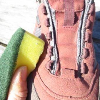 登山靴の使用後のお手入れ法3