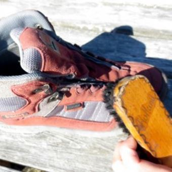 登山靴の使用後のお手入れ法4