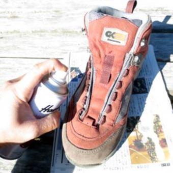 登山靴のお手入れのNG例2