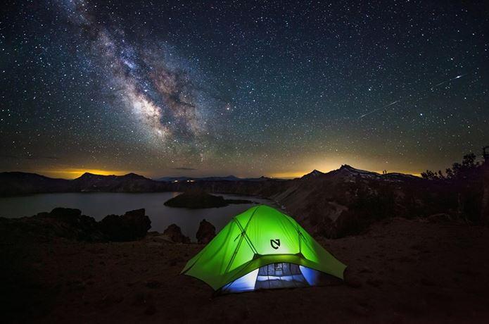 ニーモテントでキャンプ