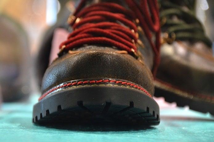 お手入れされた登山靴