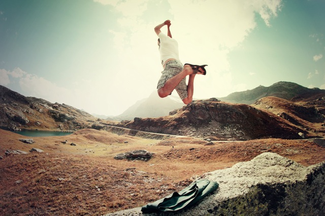 登山トレーニングをして安全登山を