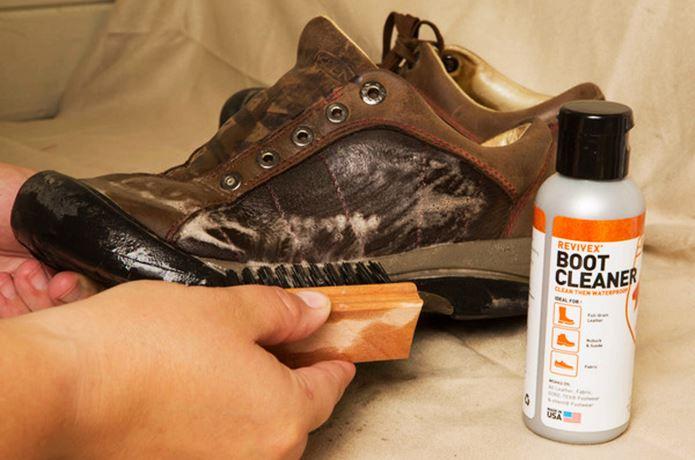 登山靴のお手入れ法