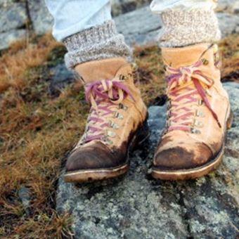 登山靴のお手入れでやってはいけないこと