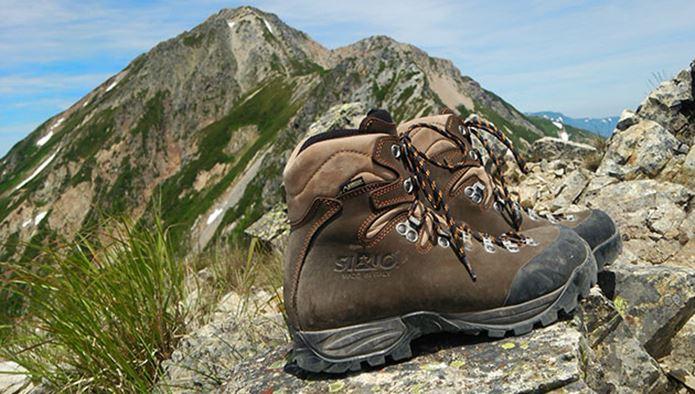 登山靴メーカー「シリオ」の靴