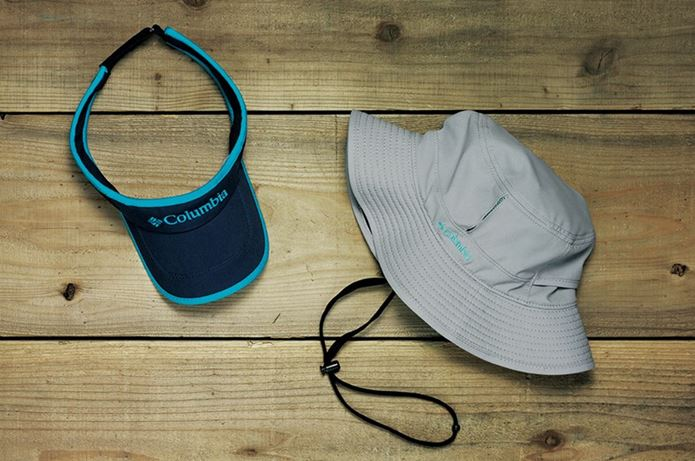コロンビアの帽子2つ