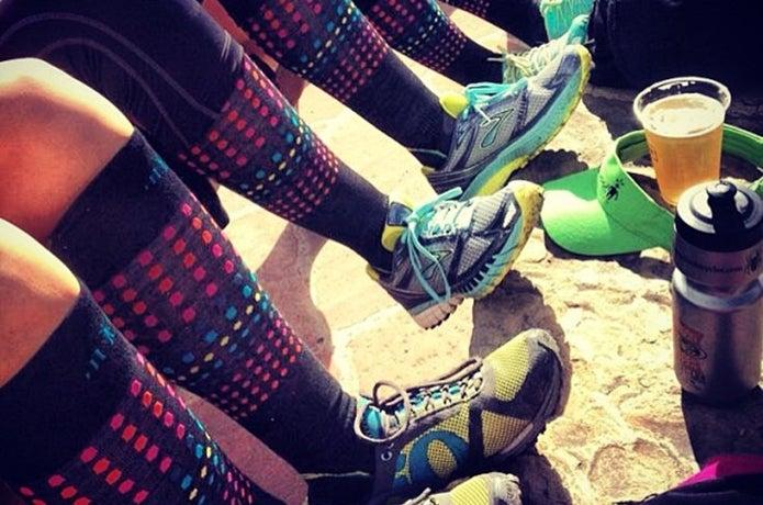 スマートウールの靴下を履いた人たち