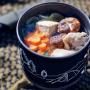 山めしの鍋