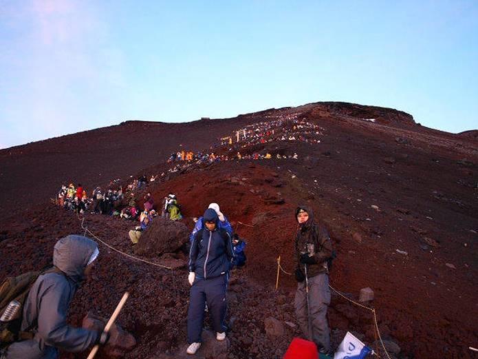 富士山ルートの渋滞