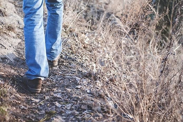 山の常識 歩幅