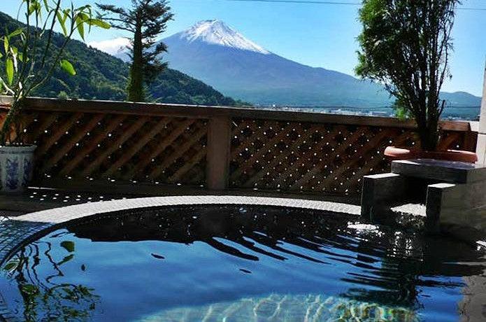富士山温泉河口湖湖のホテル