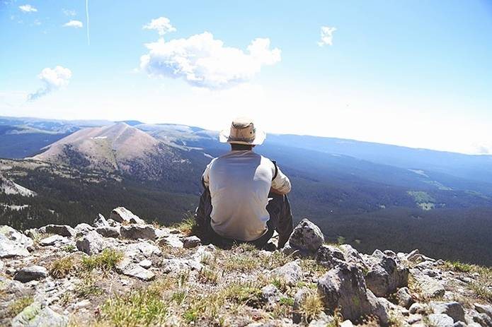 山の常識休憩のとりかた