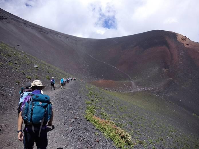 富士山プリンスルート登山道