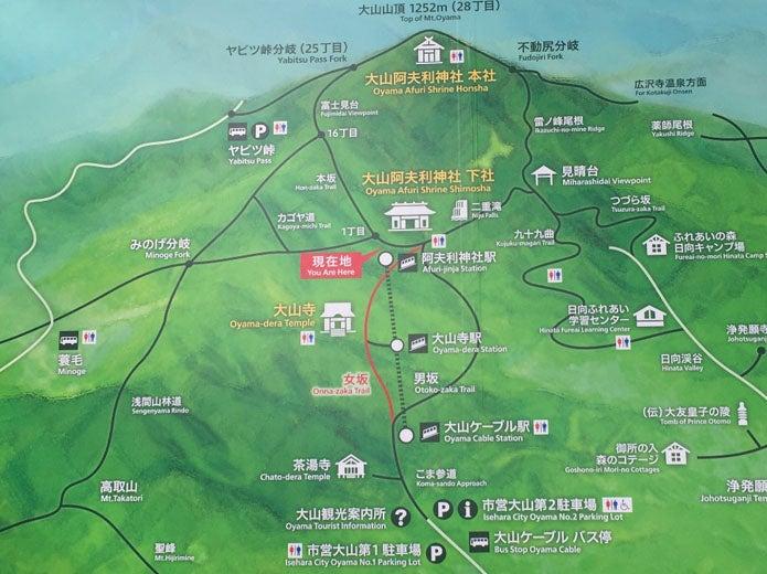 丹沢大山概念図