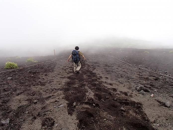 富士山須走ルートの須走