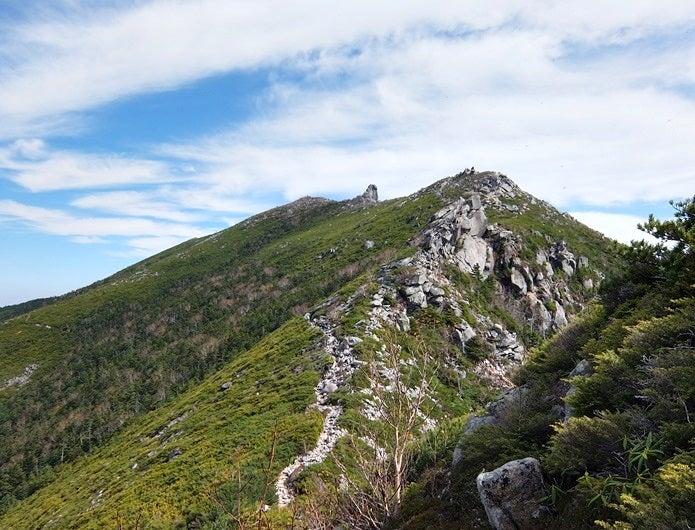 金峰山の登山道