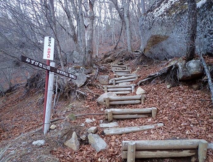金峰山の参道